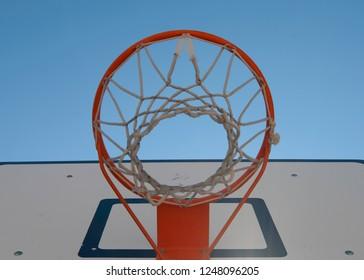 basket for basketbal game