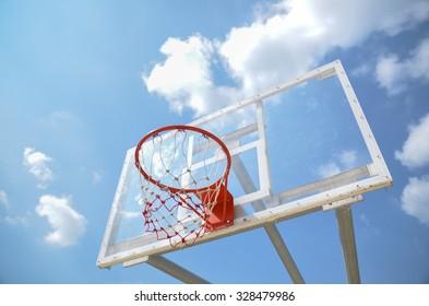 Basket for basketbal in thailand