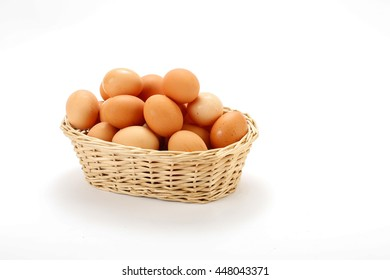 basket  eggs