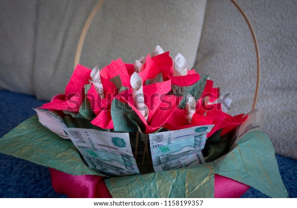 How to make an Origami Basket with Handle ...for all (41) | Money ... | 420x600