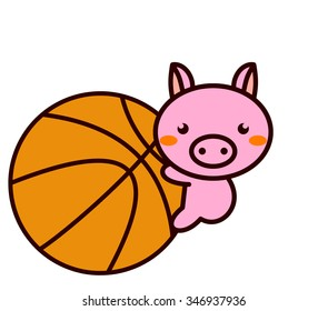 Basketball and Animal Series