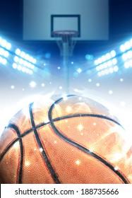 Basketball arena concept
