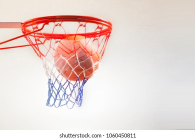 basketball ball hoop