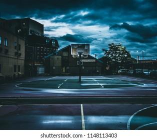basketball court moody