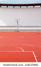 Basketball court outdoor