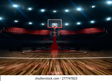 Indoor Basketball Court Background Stock Illustrations, Images ...