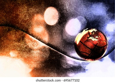 Basketball design abstract background