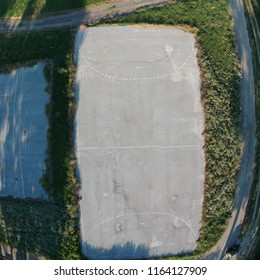 basketball field 'aerial view'
