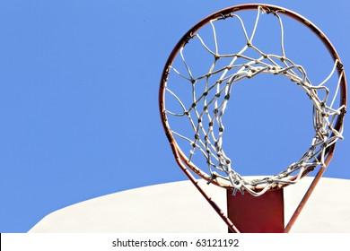 basketball goal outside