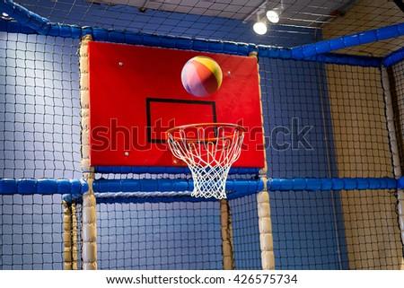 basketball going through basket stock photo edit now 426575734