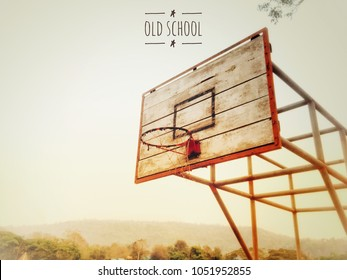 Perfect Old Basketball Hoop Images, Stock Photos & Vectors | Shutterstock MB68