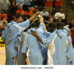 basketball huddle