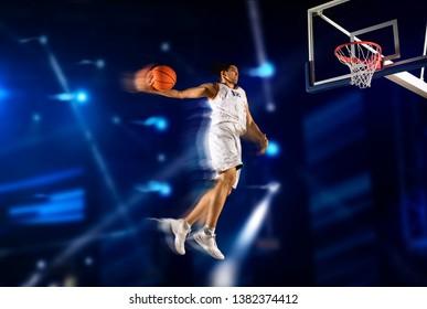 Basketball man player. Basketball concept