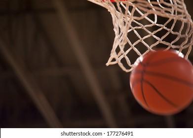 Basketball and Net
