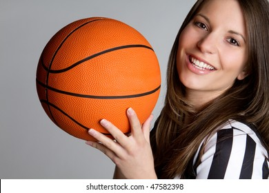 Basketball Referee Woman