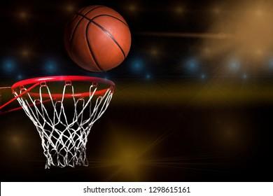 basketball shot.professional basketball