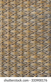 Basketwork background form natural material