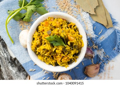 Indian raw food images stock photos vectors shutterstock basmati brown indian rice with quinoa raw tomatoes celery garam masala spices forumfinder Gallery