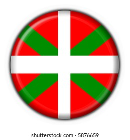 Basque button flag round shape