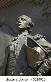 Bas-Relief of Lafayette in Prospect Park, Brooklyn