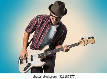 Bass artist.
