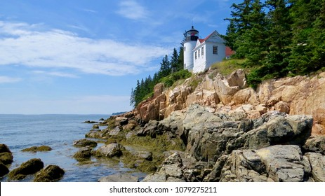 Bass Harbor Head Lighthouse Maine