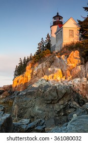 Bass Harbor Lighthouse, Acadia National Park, Maine, USA
