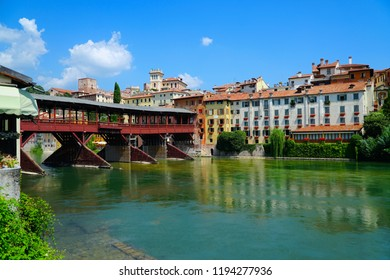 Bassano del Grappa is a city in northern Italy's Veneto region, Italy. The Old Bridge also called the Bassano Bridge or Bridge of the Alpini is considered one of the most picturesque bridges in Italy.