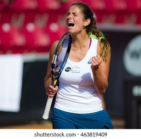 BASTAD, SWEDEN - JULY 21 : Julia Goerges at the 2016 Ericsson Open WTA International tennis tournament