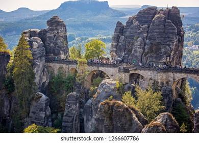 Bastai, Saxon Switzerland National Park