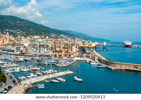 Bastia France September 16 2018 View Stock Photo Edit Now