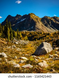 Bastille Mountain and Jumbo Pass in Fall