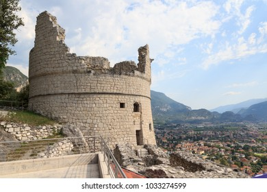 Bastione Riva del Garda fortification in Italy