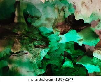 Bat cave in Jamaica