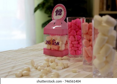 bat mitzvah(with Assorted candies and sweets.)