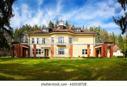 Bata Villa in Zlin, Czech Republic, Building Belongs to The Thomas Bata Foundation