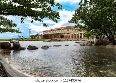 Bataan, Philippines - Jun 30,2018 : Beautiful Landscape at Las casas filipinas