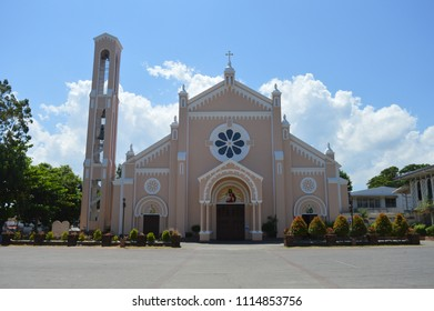 Batac, Ilocos Norte / Philippines - May 8, 2016: Our Lady Of Immaculate Conception Church