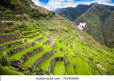 Batad Rice Terraces, UNESCO Heritage, Central Luzon on Philipines, Southeast Asia