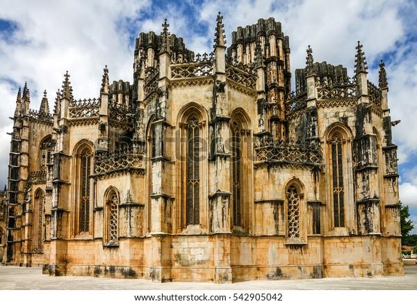 Batalha Cathedral church building, Portugal
