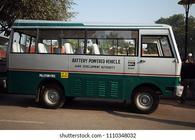 batery power bus for safe world safe life in India 02/09/2012