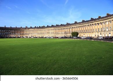 Bath architecture, England