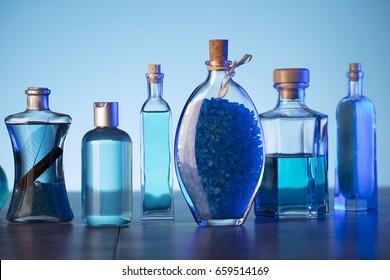 Bath  cosmetics. Spa treatment.