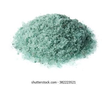 Bath salt persian green color