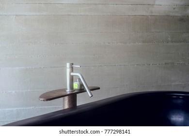 bath tap in spa