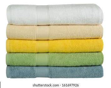 Bath towels.