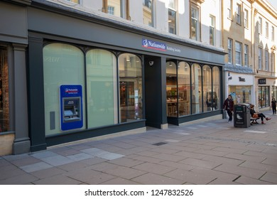 Bath, UK, 10-10-2018: Nationwide Building Society in Union Street, Bath