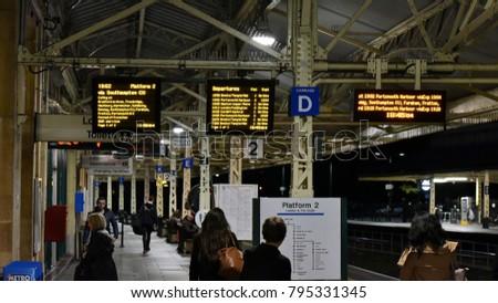 Bath UK October 18 2015 Rail Stock Photo (Edit Now) 795331345