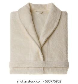 bathrobe isolated