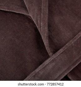 bathrobe macro dark